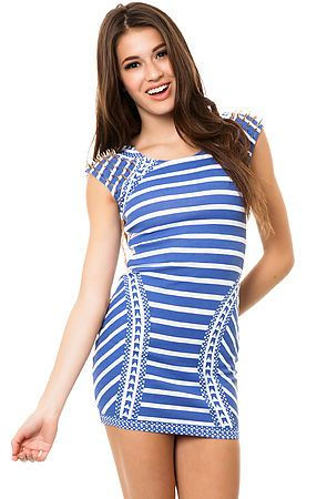 The Aztec Bodycon Dress by Reverse