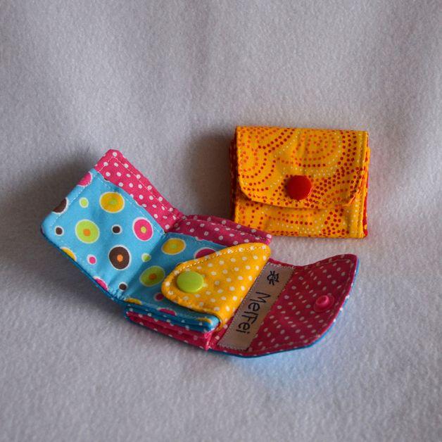 Die MiniMini-Börse ist die passende kleine Geldbörse für die Hosentasche. Ebenso ist sie wunderbar für Kinderhände geeignet! Leicht gefaltete Scheine finden ihren Platz und auch das Kleingeld ist...