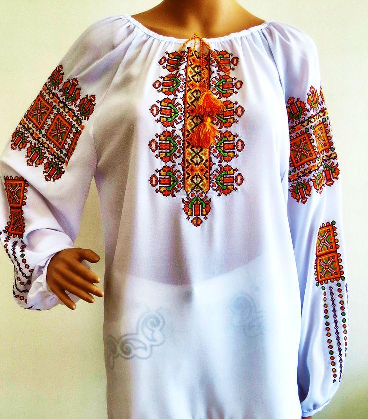 "Ladies long sleeve blouse ""Gutsulochka"" stylishdiscoveries.com.au"
