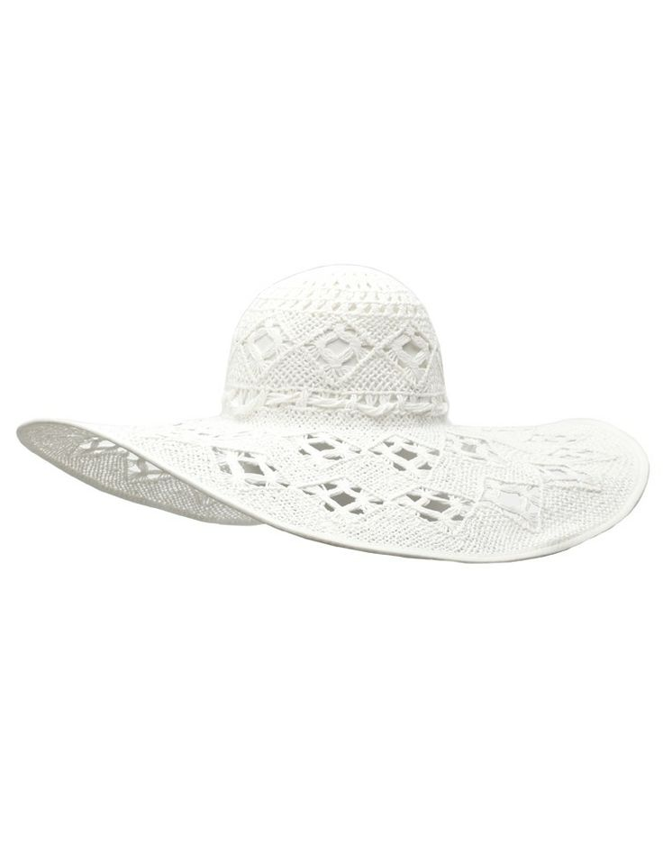 SEAFOLLY | Place in the Sun Hat in White - - Style36