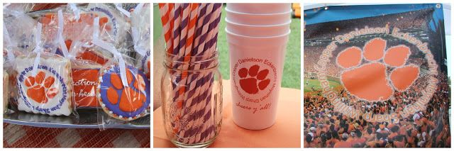 game day and tailgate reveal: Clemson vs UGA