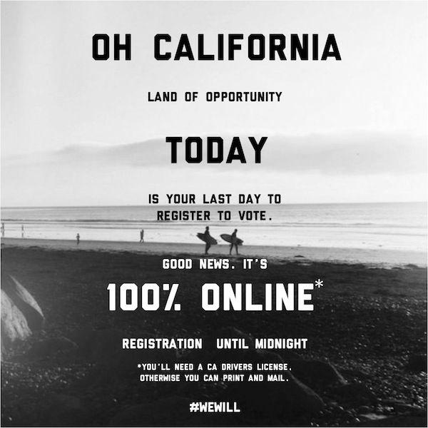 Register To Vote Online In California
