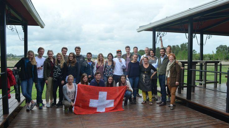 #Exchange with students from #Uruguay // #Austausch mit Studierenden aus Uruguay