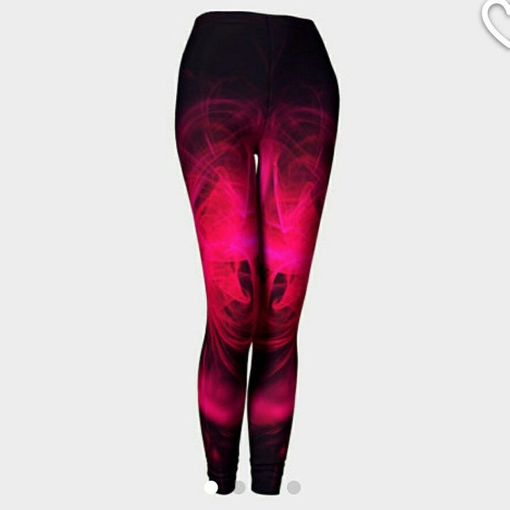 Bright pink and brand new yoga leggings just added to my store. Tracey Lee Art Designs I love pink and I love yoga so I combined the two together.