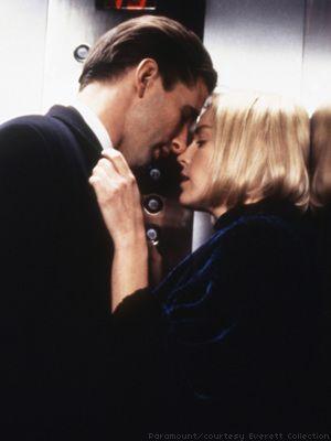 Sharon Stone & William Baldwin in Sliver (1993)