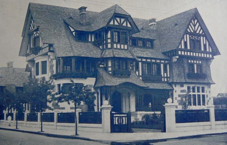 Villa veraniega de la familia Paz 1925 Mar del Plata, demolida en 1971 por el mismo gobierno Marplatense