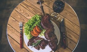Groupon - All-You-Can-Eat Brazilian Buffet for Up to Four at Estancia Brasil Steak House (34% Off) in Swiss Cottage. Groupon deal price: £16.45