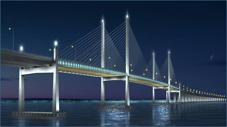 Penang 2nd Bridge Opening  Construction complete by 8-Oct Actual Date of opening to be advised