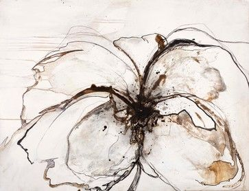 """Pavot"" - Large Artwork - contemporary - Mixed Media Art - Scandinavian Art Factory"