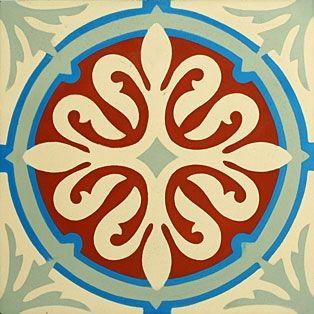 portugese-tegels -> VN Chateau 04 - Designtegels
