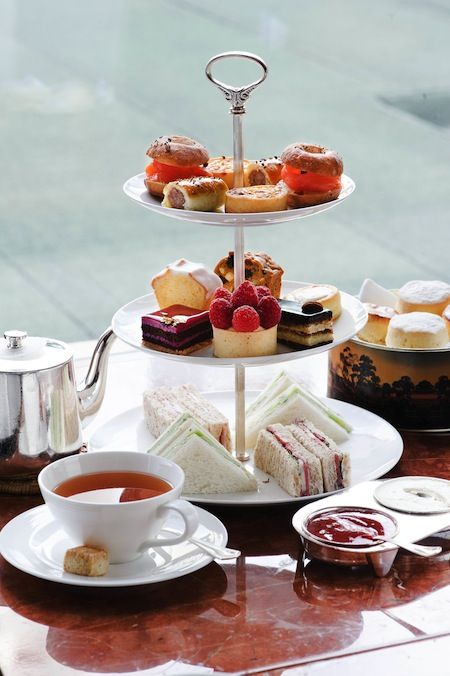 Mandarin Oriental Afternoon Tea set at Clipper Lounge and Cafe Causette, Lifestyle Asia