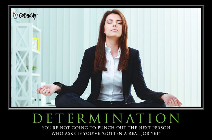 Be Determined!!!