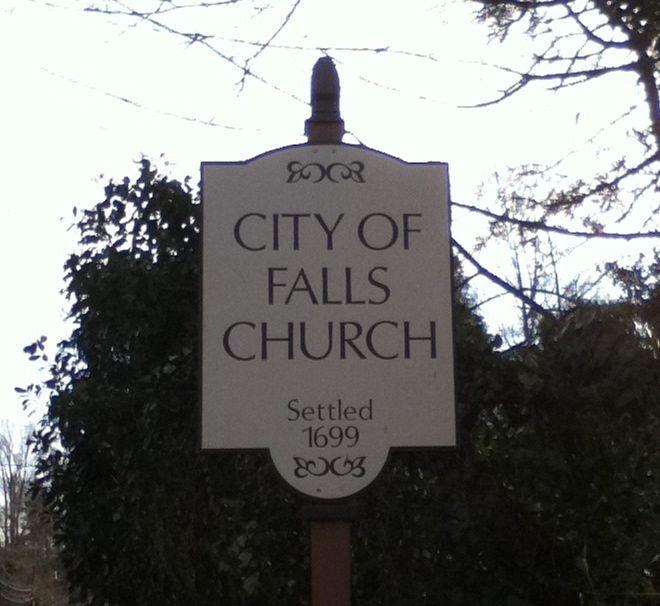 Falls Church, VA. Beautiful old town.