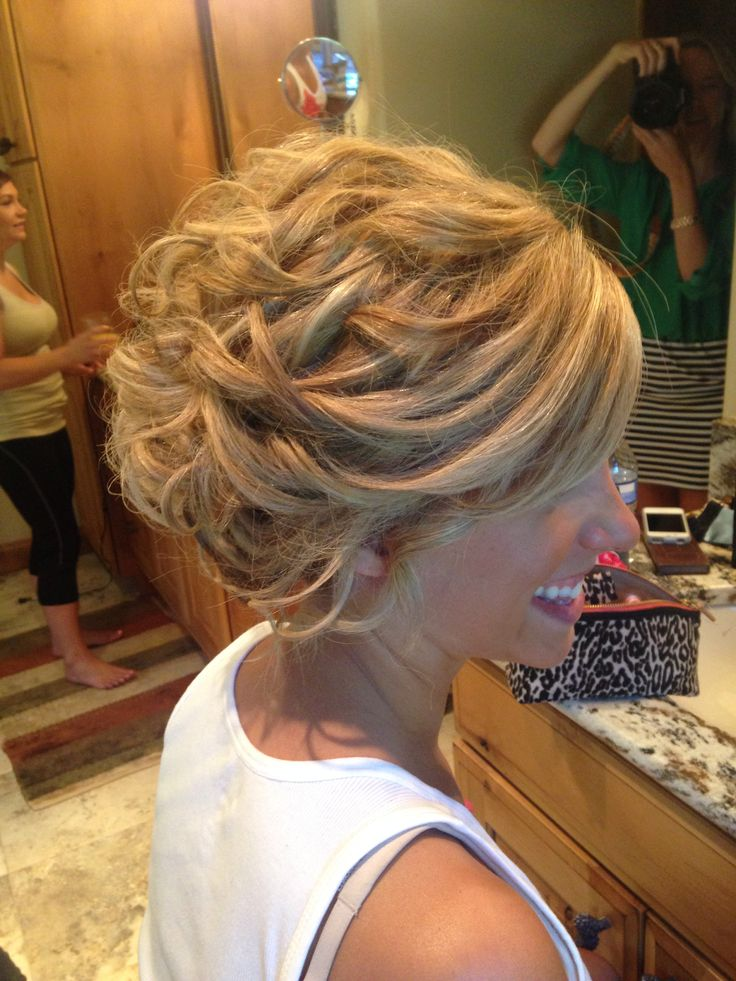 This up do is a wig, wedding hair is #1 to most women, but is especially important after winning a battle with cancer - cancer did not steal this beautiful brides dream hair <3 - just happy I had the honor of doing it for her