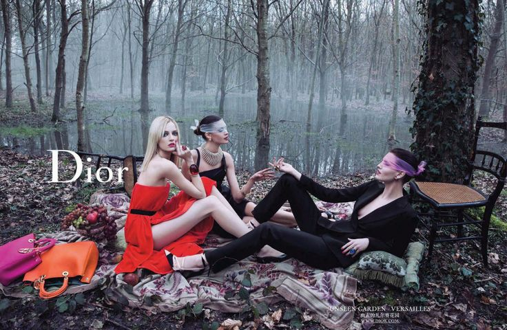 """Lunch on The Grass"" of Manet Inspires New Campaign Dior Fall 2013"