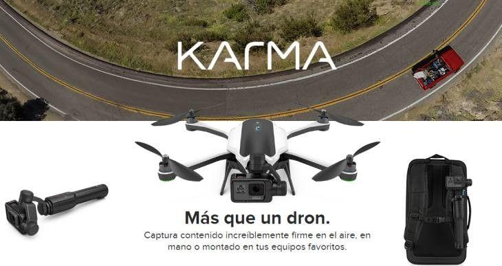 """#Gadgets #dron #GoPro GoPro """"hace un Samsung"""": Sus nuevos drones Karma salieron defectuosos y deben devolverse"""
