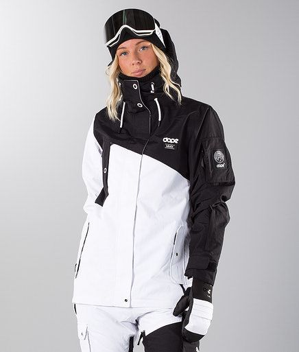 dcc4ea6a9e6e Dope Adept W Snowboard Jacket Black/White in 2019 | Outfits | Black ...