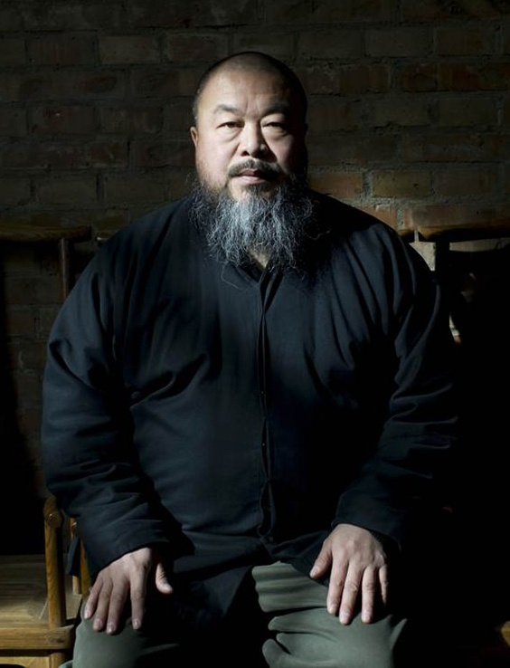 """Ai Wei Wei, high-profile artist and critic of the Chinese government. """"Democracy, material wealth, and universal education are the soil upon which modernism exists."""""""