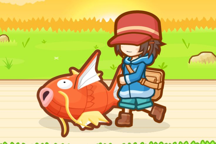 The new Pokémon mobile game is about training the best Magikarp you can