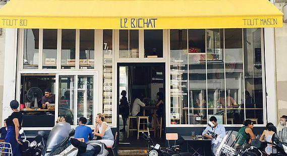 Le Bichat, cantine bio slow food dans le 10ème à Paris. Lire l'article: http://www.green-spots.com/lebichat