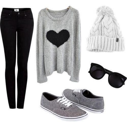 Cute Winter Outfits Teenage Girls-18 Hot Winter Fashion Idea everything except the ugg boots! Description from pinterest.com. I searched for this on bing.com/images