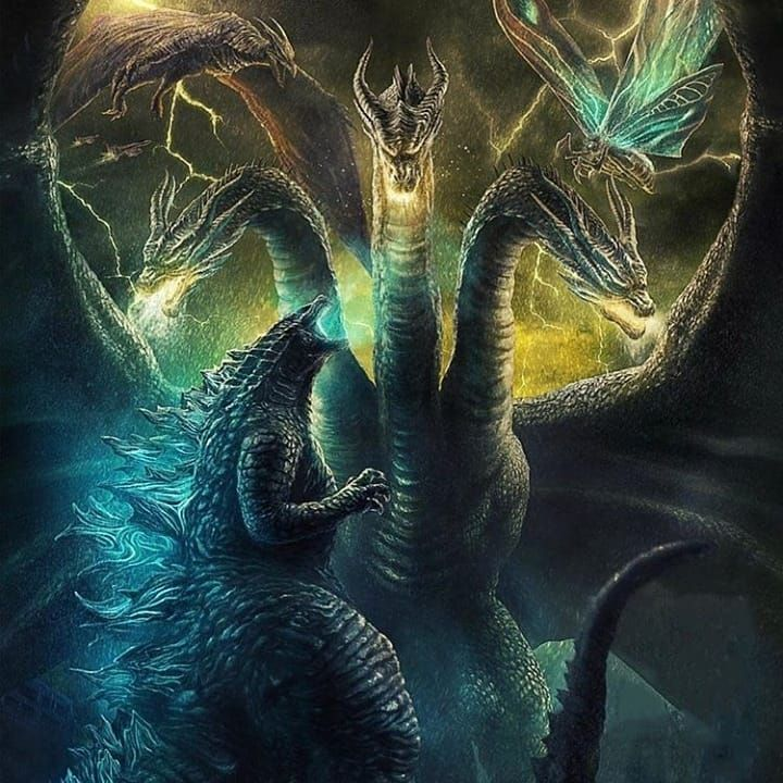 No Photo Description Available Godzilla Vs King Ghidorah Godzilla Wallpaper King Kong Vs Godzilla