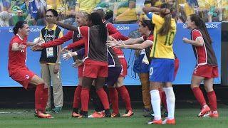 Blog Esportivo do Suíço:  Brasil perde para o Canadá e fica sem medalha no futebol feminino