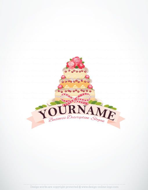 Cake Company Logo Design : 1000+ ideas about Cake Logo on Pinterest Cupcake logo ...