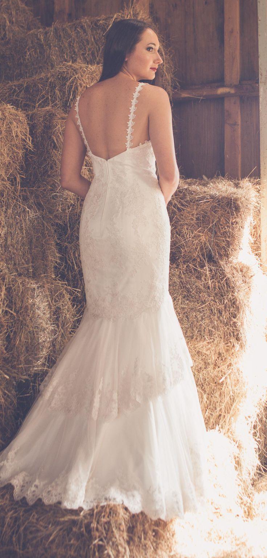 showroom bridal gown model
