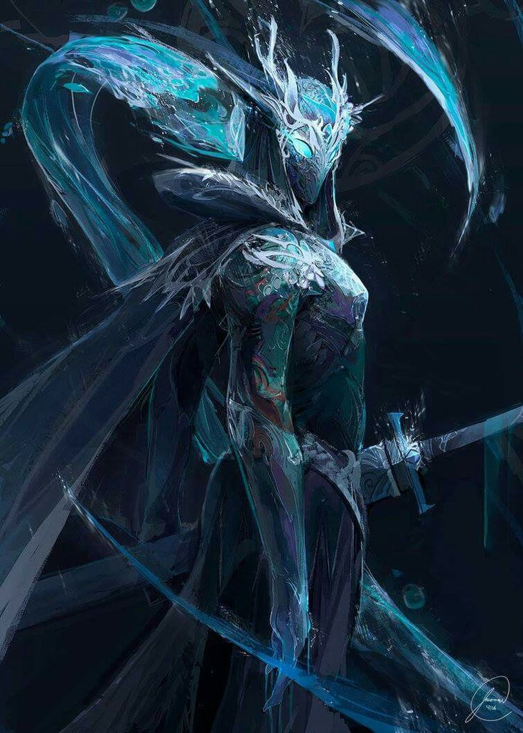 the queen of darkice,lissandra