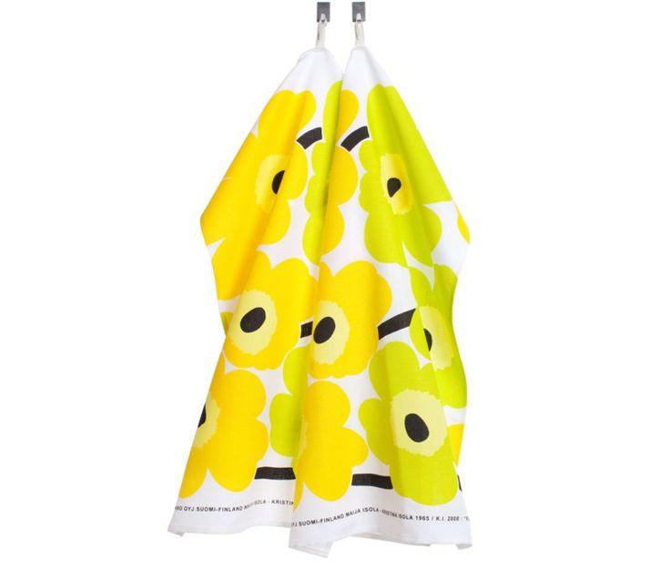 Marimekko Pieni Unikko Tea Towel Set