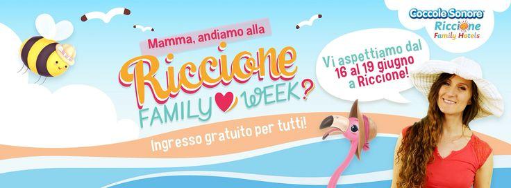 Riccione family week. Riccione 16-19 giugno 2016.