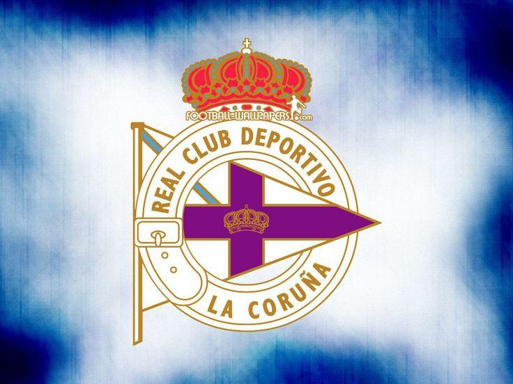 escudo del Deportivo de La Coruña.