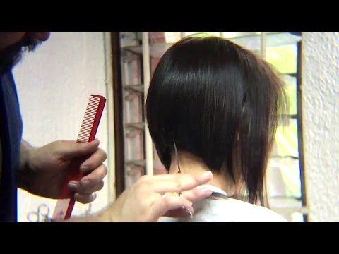Bob Haircut tutorial /Beauty Bob Cut / Peinado Bob / tutorial / como hacer / paso a paso - YouTube