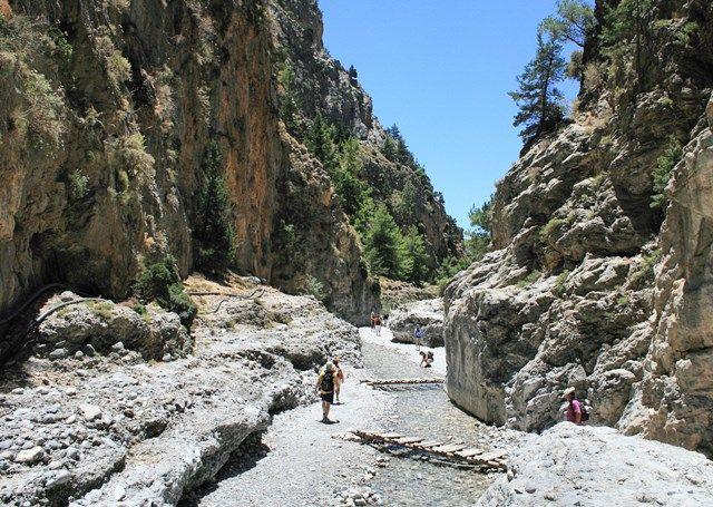 Cheile Samaria în Parcul Naţional Samaria