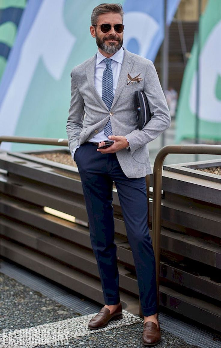 Modern men's business fashion style (35)