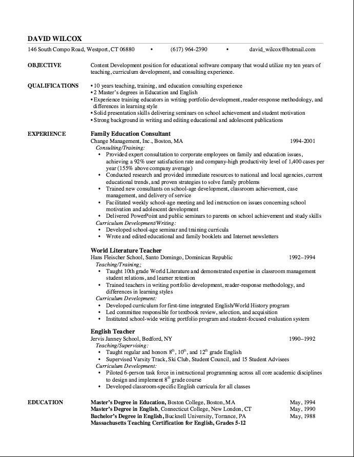 Certifications Pennsylvania Instructional I Certification - full stack developer resume
