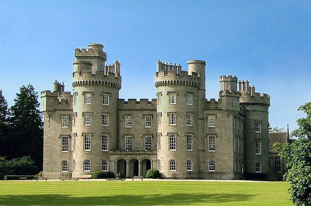 Cluny Castle was the seat of the Chief of Clan Macpherson until the 1930s