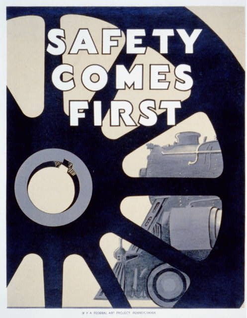 Safety comes first