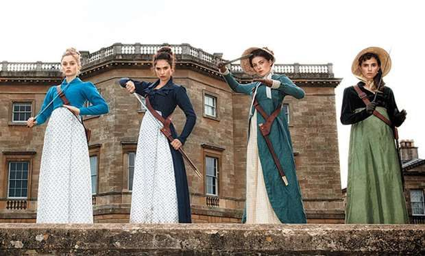 A sneak peek at Pride and Prejudice and Zombies that stars Doctor Who's Matt Smith and Game of Thrones' Lena Headey and Charles Dance has been revealed just in time for Halloween