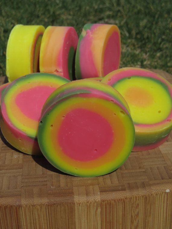 Summer Fizz Soap by SweetSoftSkin on Etsy, $2.50