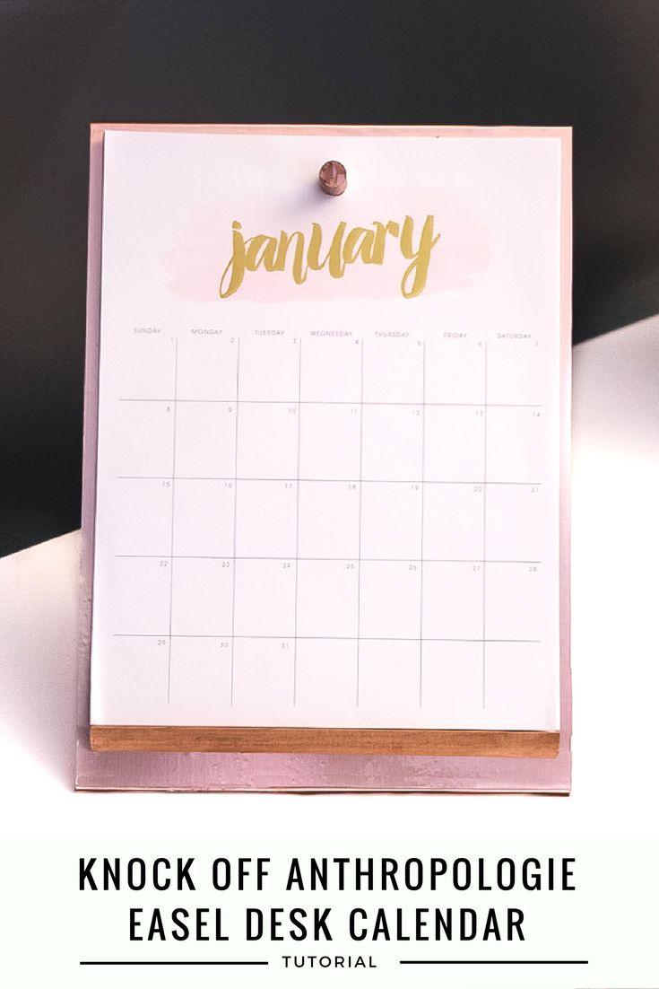 Diy Easel Calendar : Best quot hometalk funky junk present gers diy