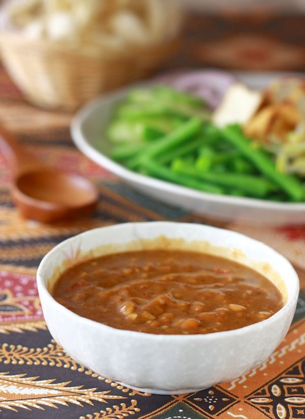 Easy Thai Peanut Sauce - as a salad dressing, or a sauce for chicken satay