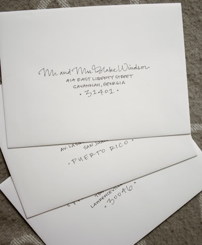 Best Hand Lettered Envelopes Images On   Penmanship