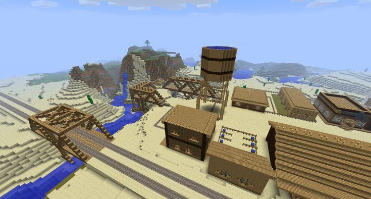 Cowboy Minecraft Build