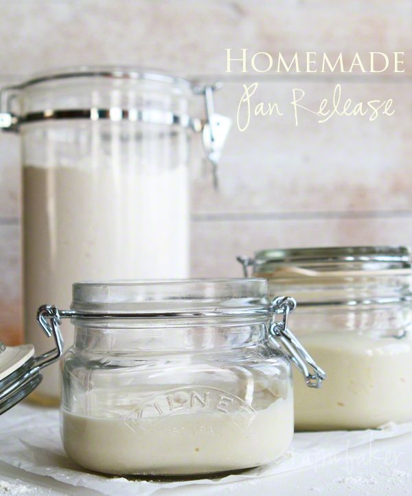 Alternative to Baking Spray:  Goop ~ Homemade Pan Release.  Cheap, Easy and Effective!  You must try this recipe