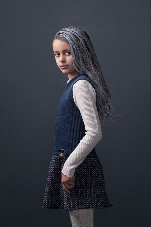 Beautiful Nora dress in soft lambswool by MOLE - Little Norway AW15 <3