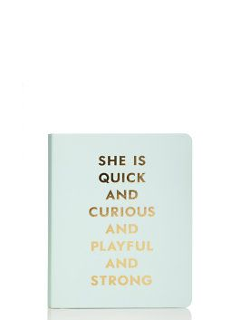 Quick and Curious Spiral Notebook by kate spade new york