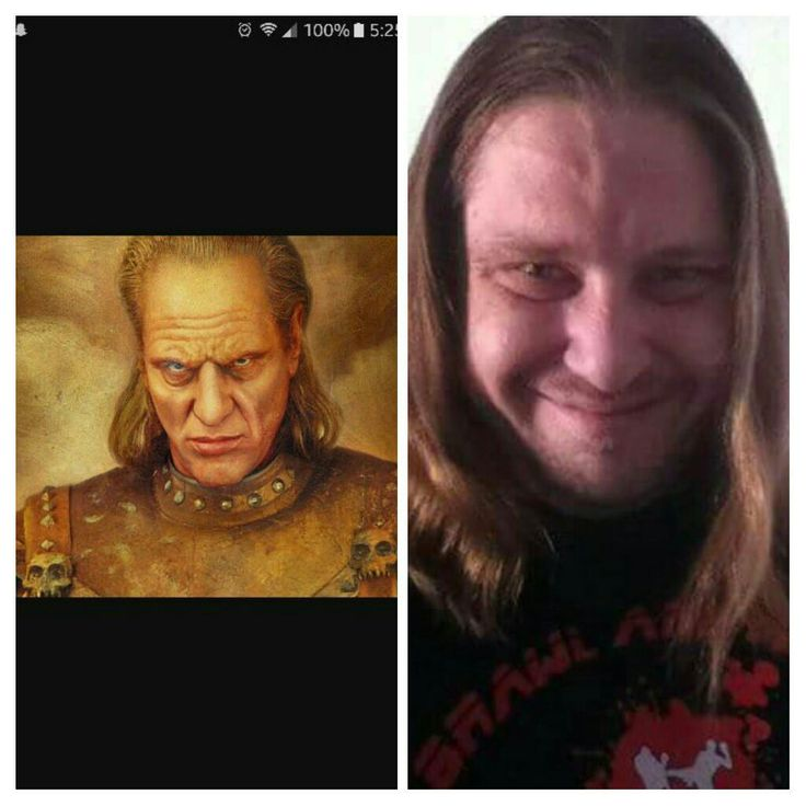 Finally figured out who my friend's profile pic reminded me of... someone check the sewers for pink slime.