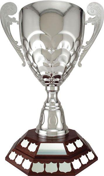 Bianchi Cup on a Genuine Walnut Base